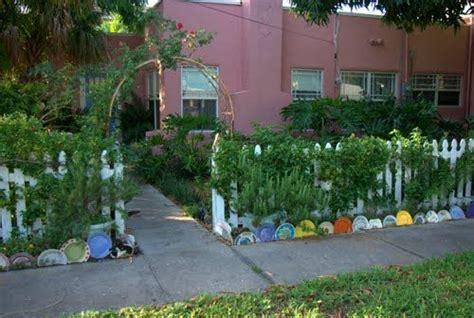 Garden Using Plates by Landscape Edging Using Plates Exteriors Gardens
