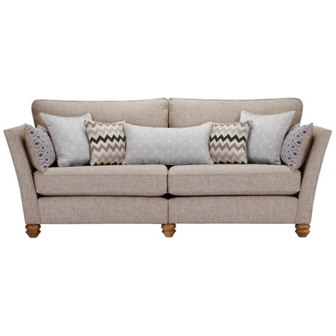 gainsborough 4 seater sofa in silver matching scatters