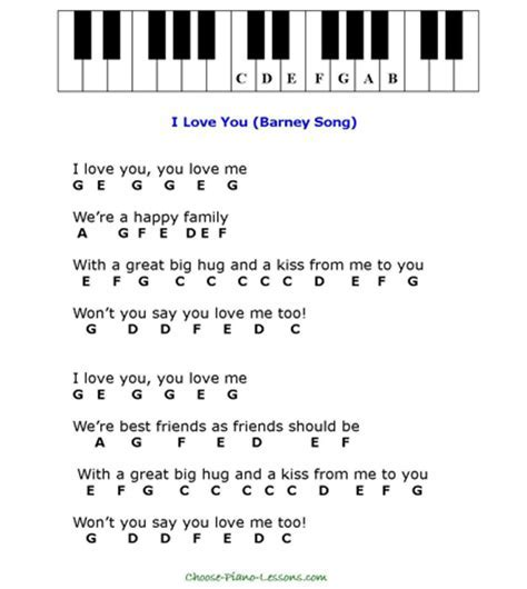 words to three blind mice - Printable Nursery Rhyme Song