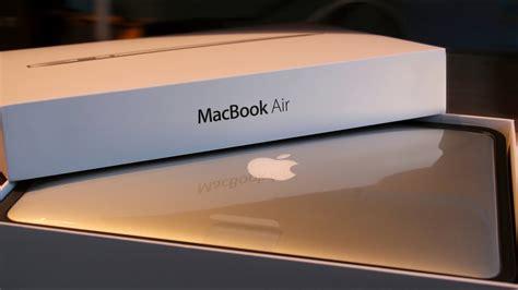 apple macbook air  unboxing hands