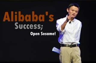 Alibaba's Success; Open Sesame! ~ AtoZecon