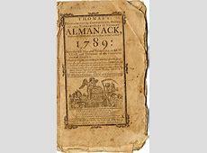 Concord Free Public Library Almanac Collection, 17921950