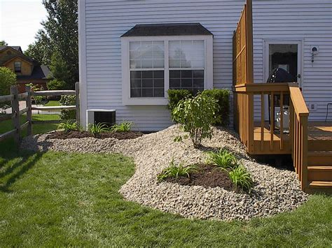 ideas for landscaping deck landscaping ideas