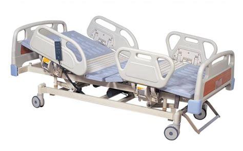 remote handset electric hospital bed five function