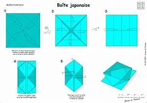 Comment Faire Une Boite En Origami : origami diagramme d 39 une boite japonaise bricolage avec les enfants origami boite origami ~ Dallasstarsshop.com Idées de Décoration