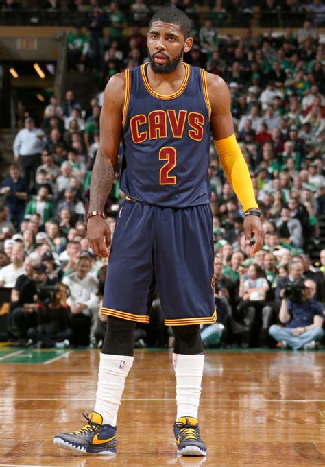 #SoleWatch: Kyrie Irving Wears 'Cavs Navy' Nike Kyrie 1 PE ...
