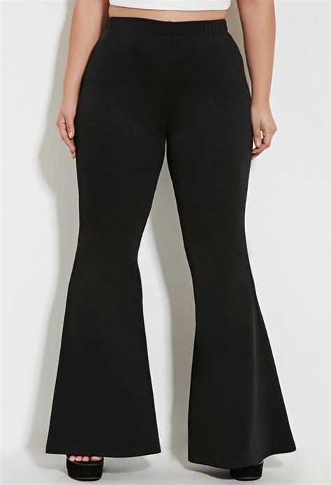 size flared pants  black lyst