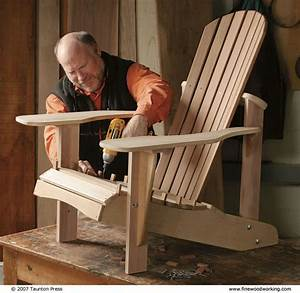 how to make outdoor furniture finewoodworking With build a recliner