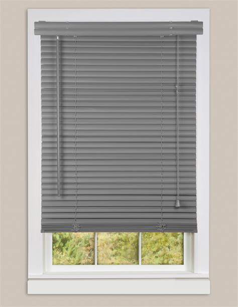 "Window Blinds Mini Blind 1"" Slat Vinyl Venetian Blinds"