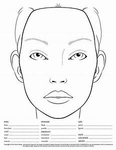 1000  Images About Blank Makeup Face Charts On Pinterest