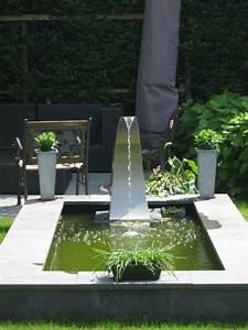 Sculpture De Jardin Contemporaine : cr er un bassin contemporain dans votre jardin ~ Carolinahurricanesstore.com Idées de Décoration