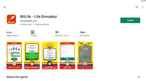 bitlife windows pc fastest mac run way emulator bluestack official login play website open google