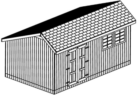 yia looking for 12x16 slant roof shed plans