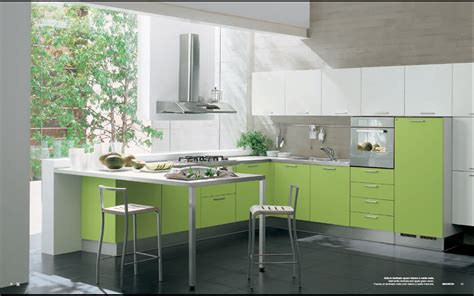 interior design ideas for kitchen modern green kitchen interior design stylehomes