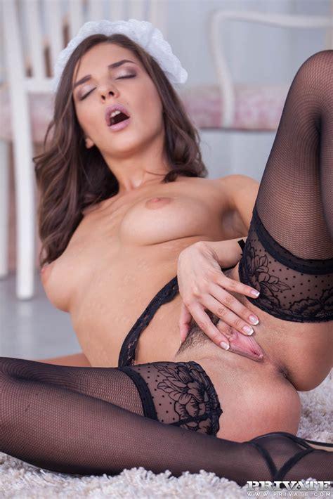 French Maid Masturbating Fml