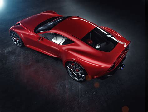 ferrari concept marries timeless proportions