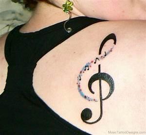 92 Nice Music Tattoos