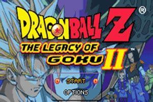 dragon ball   legacy  goku ii gba rom