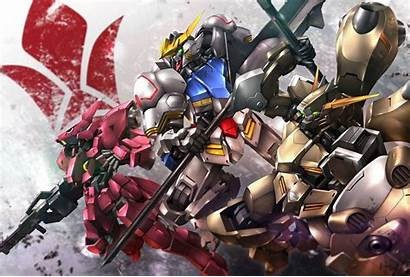 Wallpapers Blooded Orphans Iron Gundam Suit Mobile