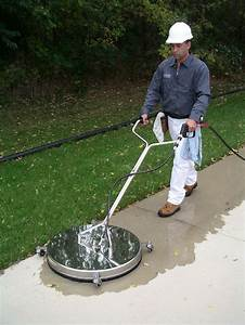 Surface Cleaners Are Used To Clean Concrete Sidewalks