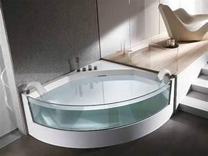 Eckbadewanne Mit Dusche : eckbadewanne angenehmer luxus im rechten winkel my lovely bath magazin f r bad spa ~ Markanthonyermac.com Haus und Dekorationen