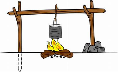 Cooking Fire Crane Camp Vector Pixabay Donate