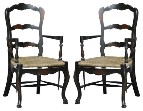 new dining chair black walnut country farmhouse