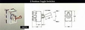 Indak Switches 2 Position Toggle Switches