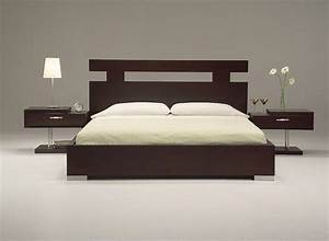 ultra modern king size bed set from wooden material With double bunk beds ideas for modern look