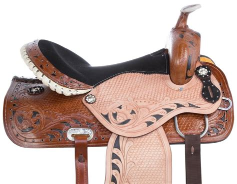 cutting ranch saddle horse cutter roper tack leather western
