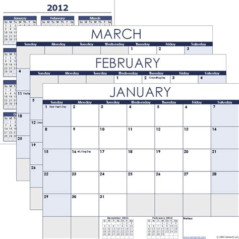 free calendar templates download free calendar templates for 2013
