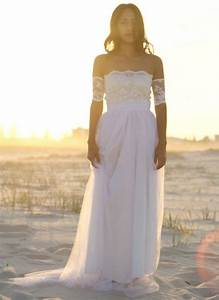 white wedding dress lace tulle summer dresses beach With white dresses to wear to a wedding