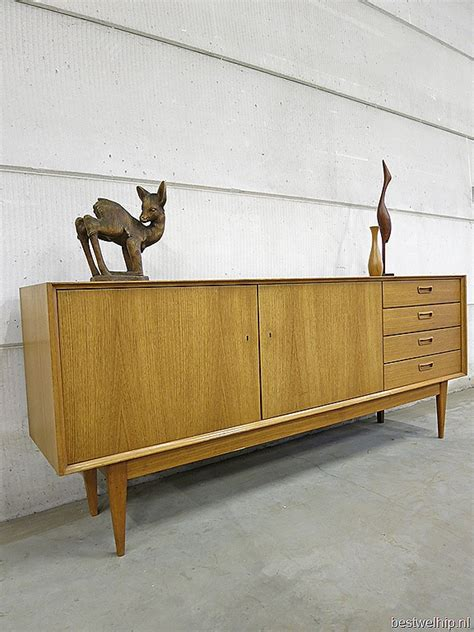 sekretär mid century mid century vintage dressoir deense stijl bestwelhip