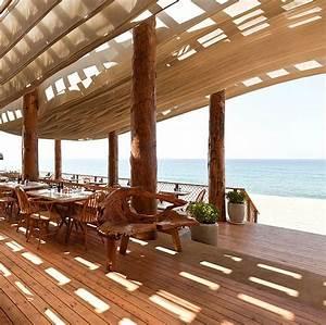 The Bouni beach bar design by K-Studio