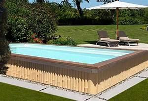 les 25 meilleures idees de la categorie piscine hors sol With terrasse en bois pour piscine hors sol 5 piscine 100 bois decouvrez cette nouvelle piscine bois