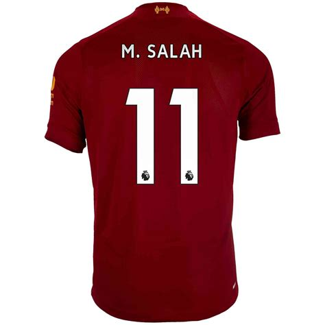 Liverpool long sleeve home jersey 2019/20. 2019/20 Kids New Balance Mohamed Salah Liverpool Home ...