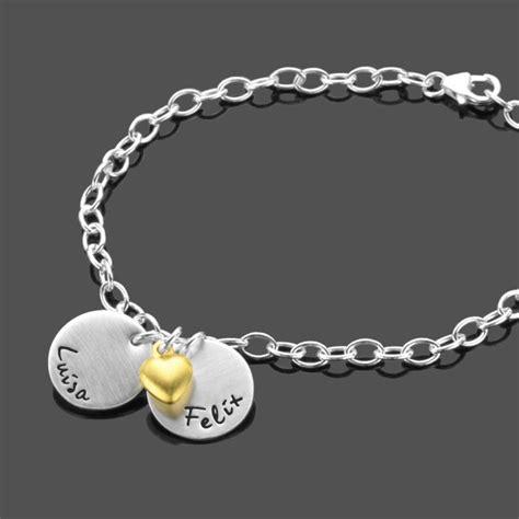 liebes armband mit gravur namensarmband mon amour 925 silberarmband gravur liebe