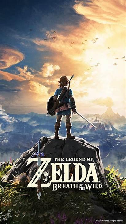 Breath Zelda Wild Wallpapers Mobile Legend Nintendo