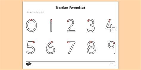 number formation worksheet number formation numbers
