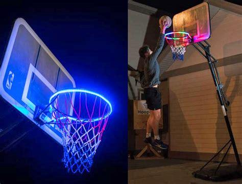led lighting for kitchen hoop light led lit basketball attachment helps you 6928