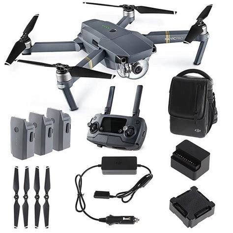 dji mavic pro fly  combo quadcopter drone cppt dynnex drones