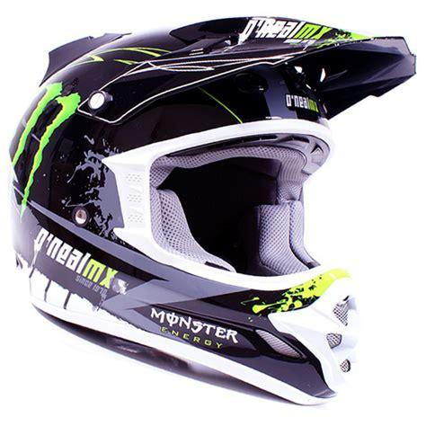 monster motocross helmet oneal 709r tim ferry monster energy motocross helmet s ebay