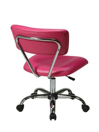 Task Chair Walmart Canada by Office Products Vista Task Pink Vinyl Office Chair
