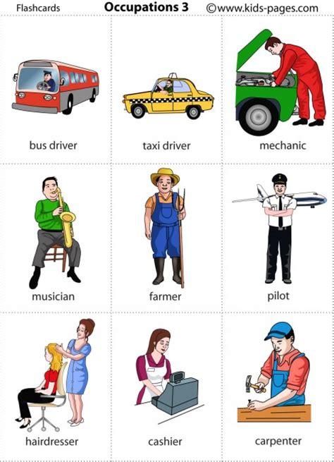 Occupations 3 Flashcard