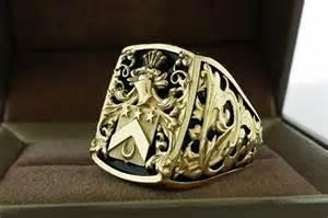 superman wedding ring handmade mens ring crest ring by 3dheraldry custommade