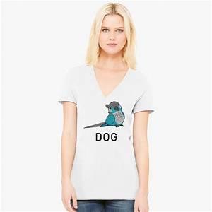 Jaiden Animations Dog Women 39 S V Neck T Shirt Customon