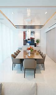 Modern Kitchen Design at Sunny Isles Condo by DKOR ...