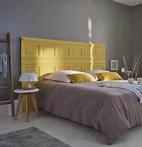 Tete De Lit En Bois Pas Cher : fabriquer tete de lit pas cher 6 d233co r233cup faite avec une t234te de lit originale en ~ Teatrodelosmanantiales.com Idées de Décoration
