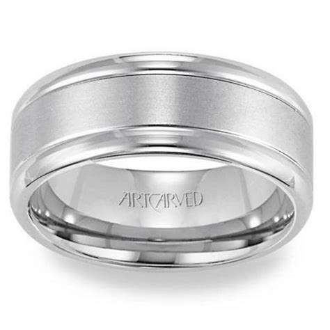 wedding rings uk palladium mens palladium wedding ring ebay