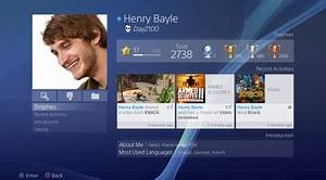 PlayStation 4 User Interface overview - Gamersyde
